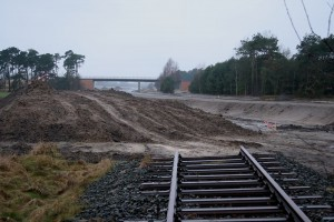 """Verkehrspolitik in Niederachsen: Straßenneu-,  Schienenabbau"""" (Celle, Januar 2013)"""