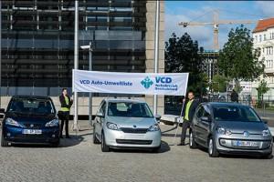 Sieger-Präsentation der VCD Auto-Umweltliste 2013/2014